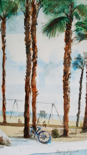 Santa Monica spring by Glory Giffin