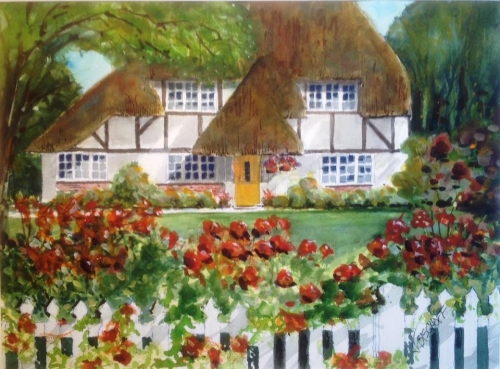 Thatched in Wiltshire? II by Gerald Bischoff