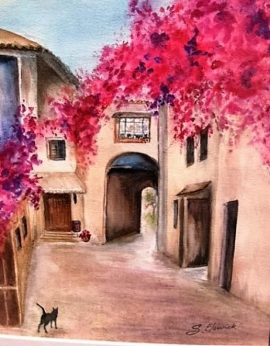 Villiages of Provence by Shirley Elswick