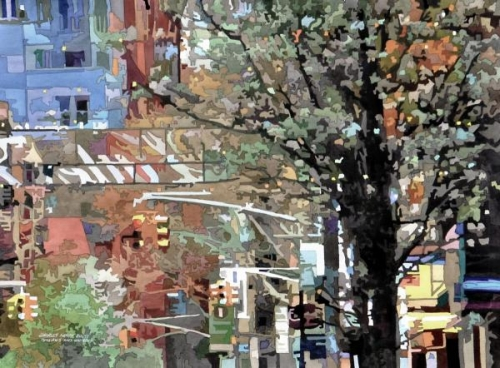 A Slice of Little Italy, NYC by Charles Henry Rouse