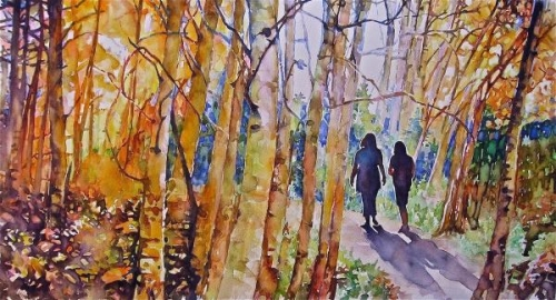 A Walk In The Woods by Susan Keith