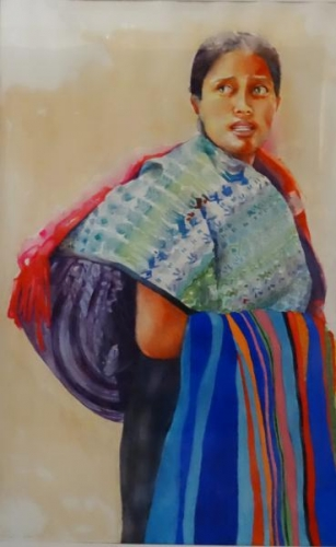 Honorable Mention - Antigua Lady by Susan Hewitt