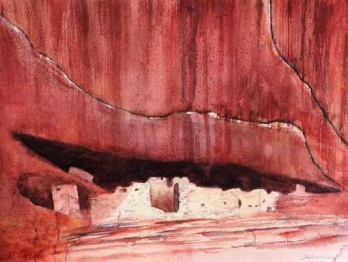 White House, Canyon de Chelly by Susan Wormsley