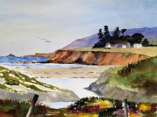 Highway 1 by Susan Wormsley