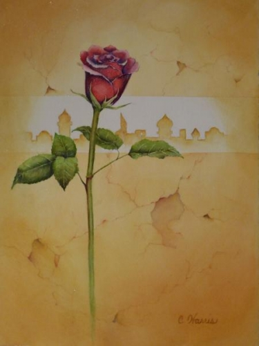 Honorable Mention - The Rose E'er Blooming by Carol A. Harris
