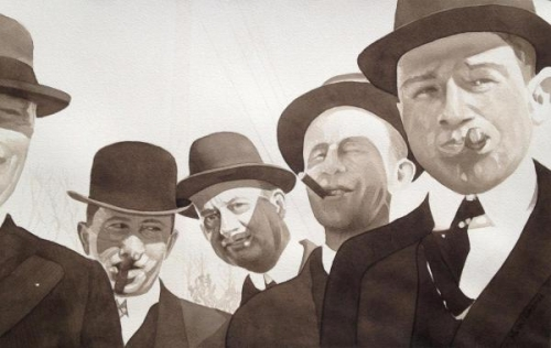 The Guys - 1917 by Michael Garberick