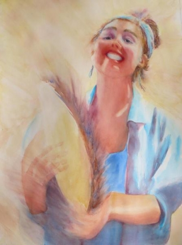Tambourine Queen by Beverly Tuzin