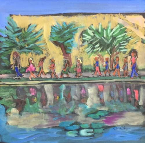 Field Frip to the Lily Pond! by Sarah Sullivan