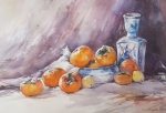 Persimmons From Addie
