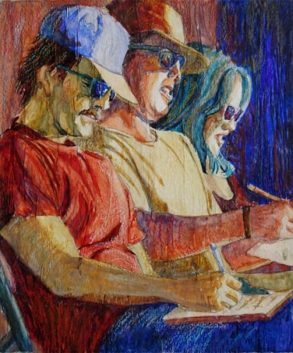 The Jurors, study by Julie Anderson