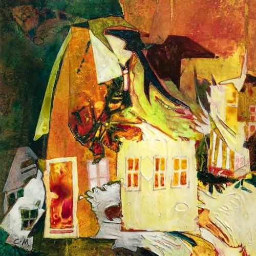 Yellow House by Carol Mansfield