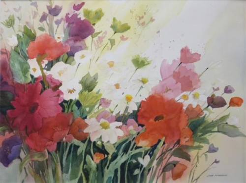Monday Flowers by Joan McKasson