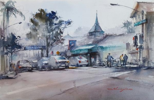 Intersection, Carlsbad by Shuang Li