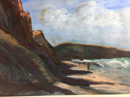 Juror Commendation - Morning Salutes Torrey Pines by Sarah Sullivan