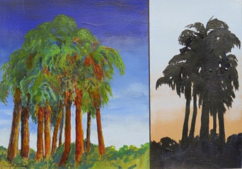 Two Views by Mary Sievers