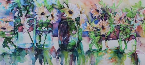 Garden Variety Daisies by Susan Keith