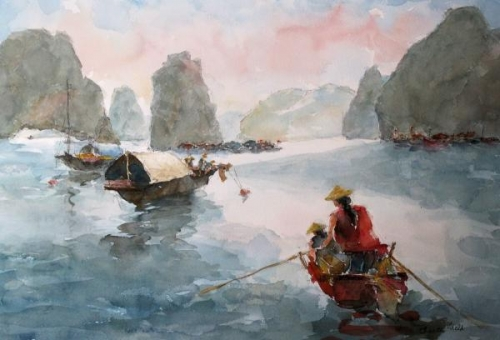 Halong Bay by Charles Held