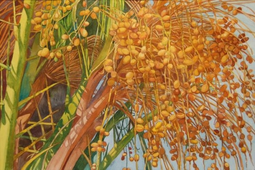 Honorable Mention - Fruitful Palm by Bella Hollingworth