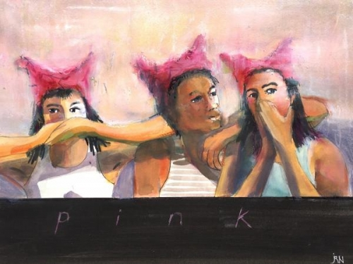 Think Pink by Joanne Newman