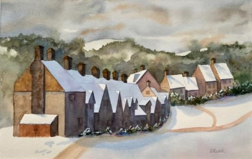 Cotswold Winter by Diana Ruark