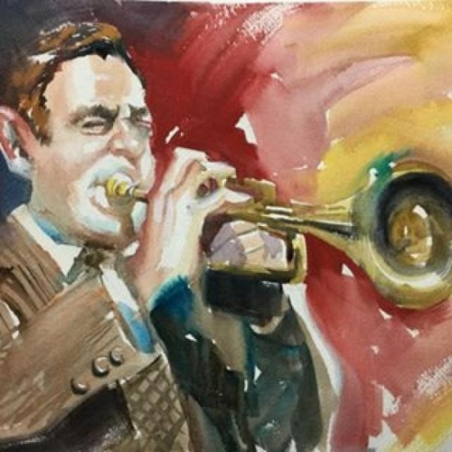 The Trumpet Man by Tom Fagan