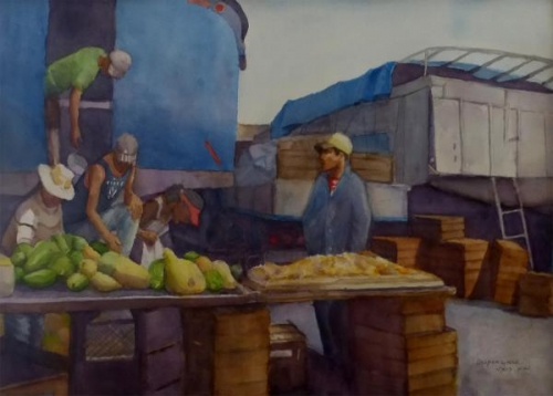 Cuban Market by Patricia Dispenziere