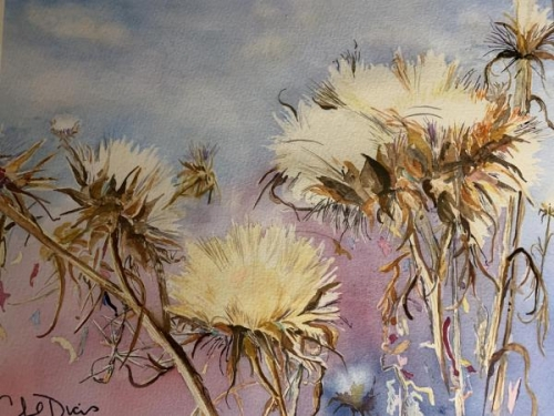 Best of Theme,  - Thistle by Cheryl Dicus