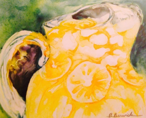 Ice Cold Lemonade by Beverly Berwick