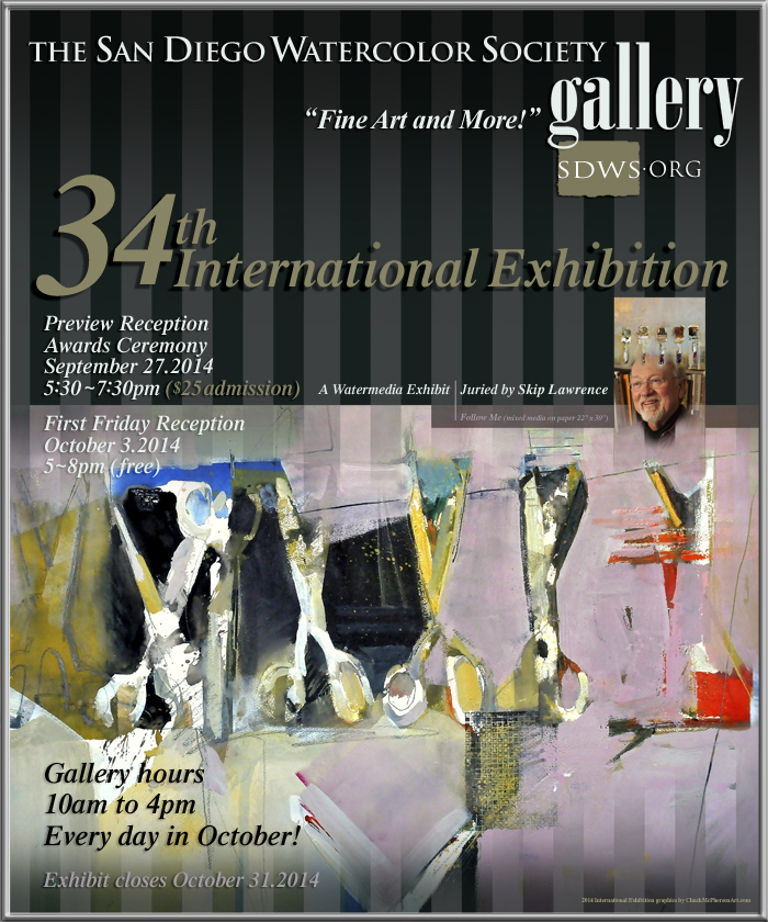 34th International Exhibition Poster